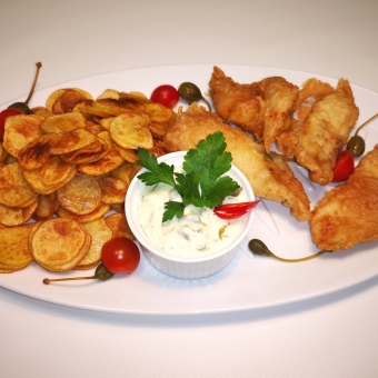 Fish and chips 2-le ( 650 g )