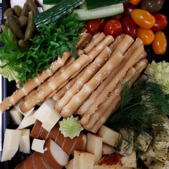 Grissinid juustu- ja köögviljavalikuga 1kg